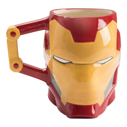 Iron Man Sculpted Ceramic Mug