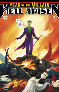 Year of the Villain Hell Arisen #3 1st Print - Steve Epting Cover