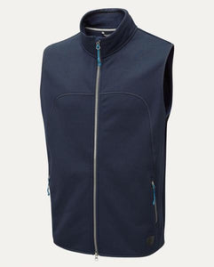 Braham Fleece Vest in Navy