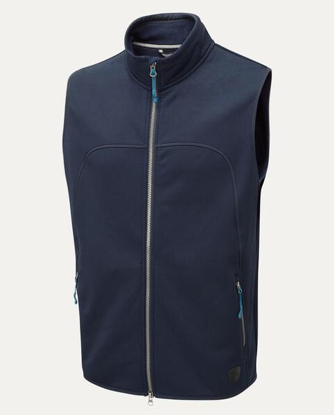 Bramham Fleece Navy Vest