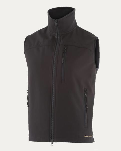 Mens All Around Black Vest