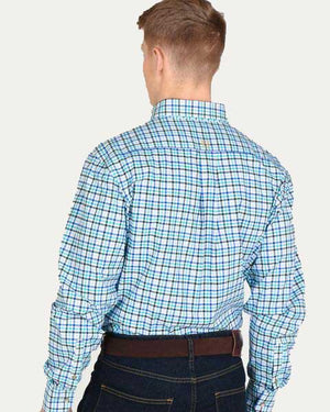 Generations Long Sleeved Blue Plaid Shirt