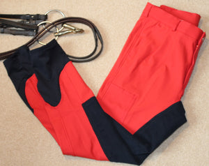Equestriman #nomorebeige Red Breeches