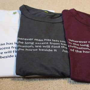 Equestriman Moore Quote Tee-shirt