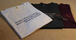Equestriman Churchill Quote Tee-Shirt