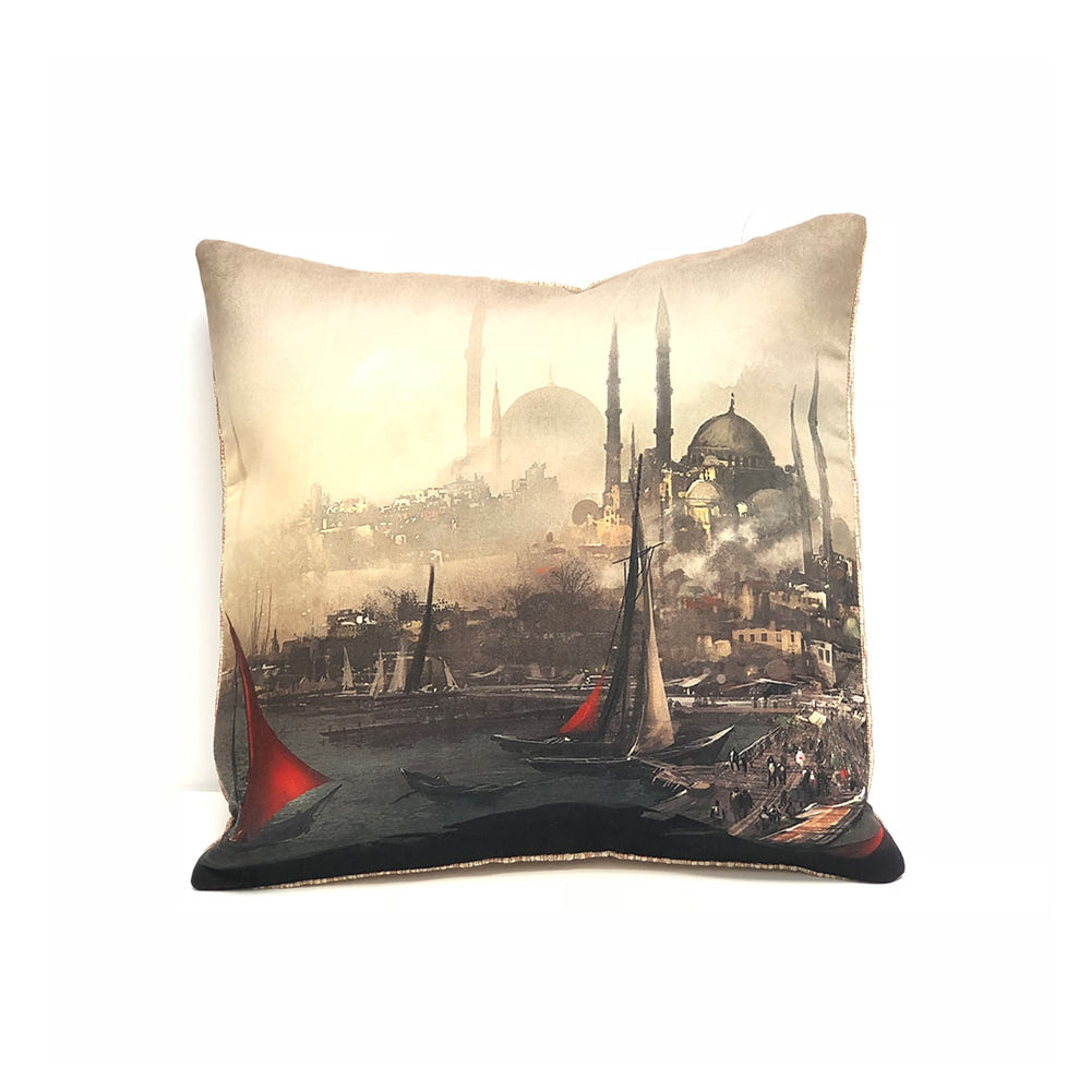 Turkish Cushion Cover - Glimpse of Turkey