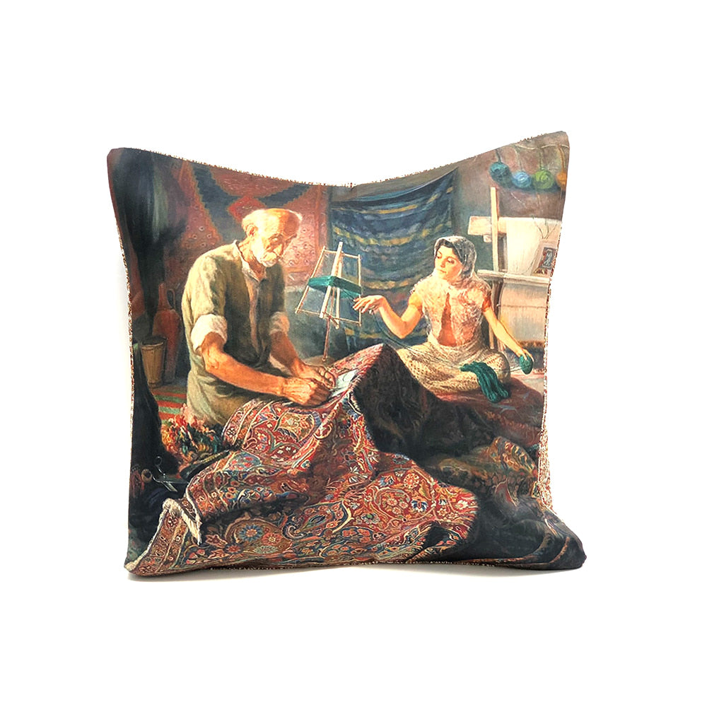 Turkish Cushion Cover - Carpetry