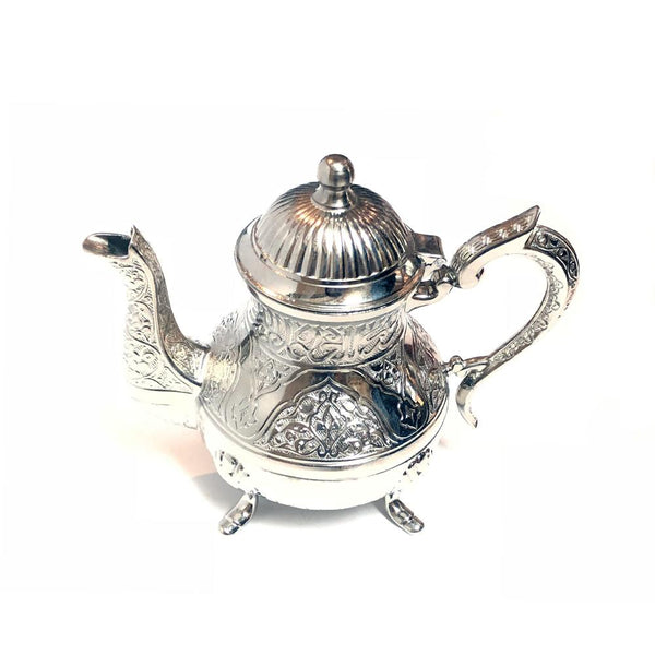 Traditional Teapot - Silver
