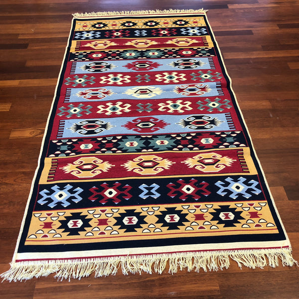 Turkish Reversible Kilim Rug (100*200 cm)
