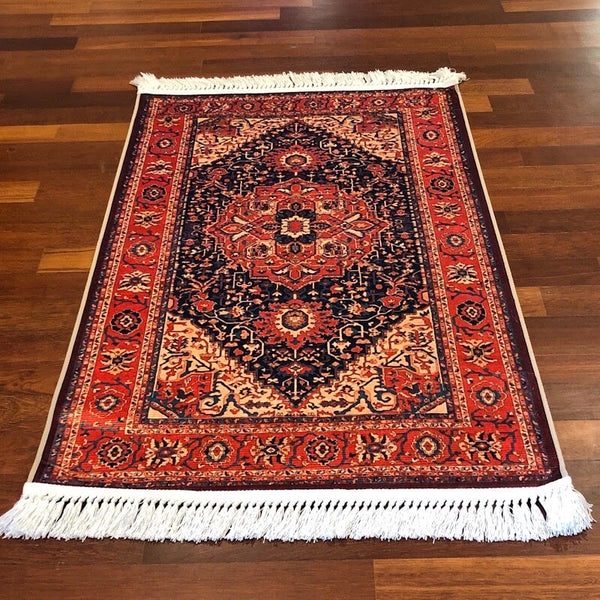Turkish Silk Velvet Carpet