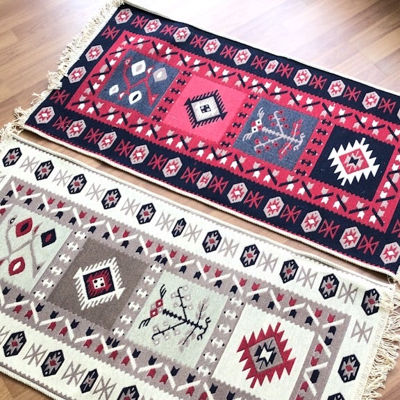 Turkish Reversible Kilim Rug