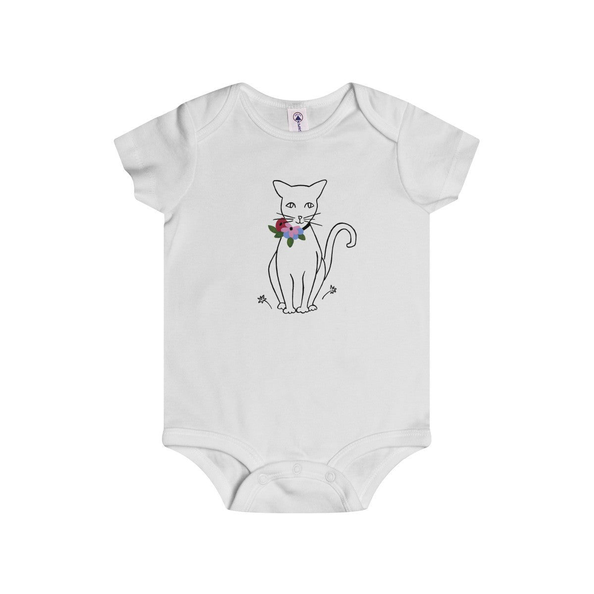 "B&L ""Like Matisse (Cat)"" Infant Onesie"