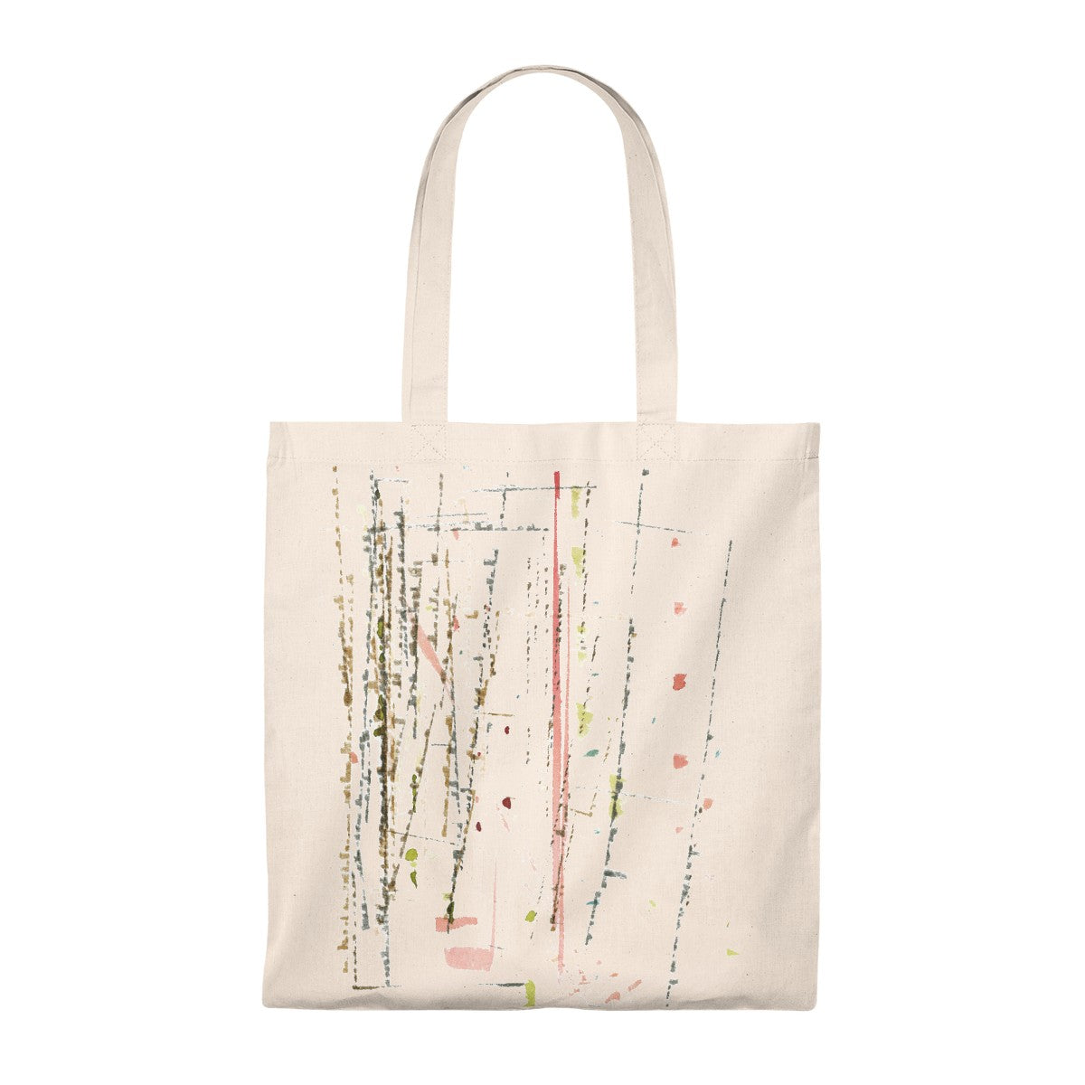 """Linear Abstract"" Art Bag - Vintage"