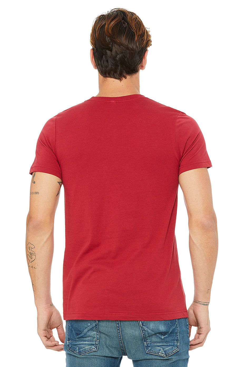B&L Blank Canvas Men's Tee
