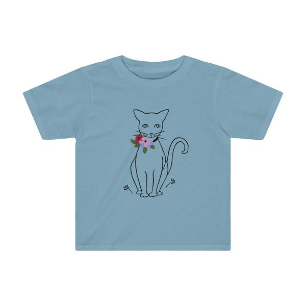 "B&L ""Like Matisse (Cat)"" Toddler Tee"