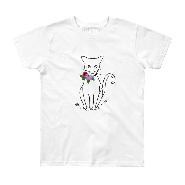 "B&L ""LIKE MATISSE (CAT)"" YOUTH TEE"