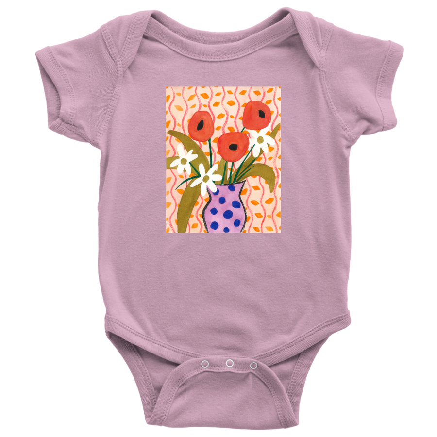 "B&L ""Like Matisse (Flower)"" Onesie"