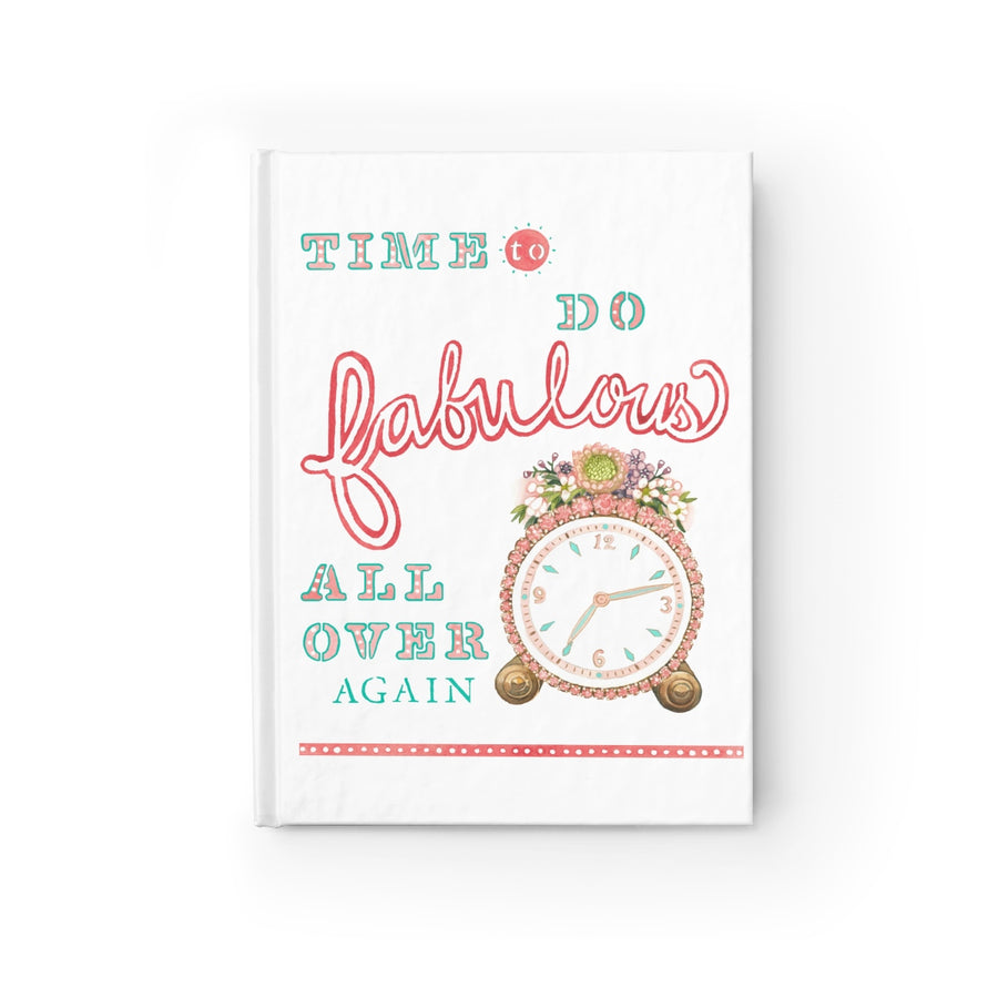 Time to Do Fabulous Journal (White)