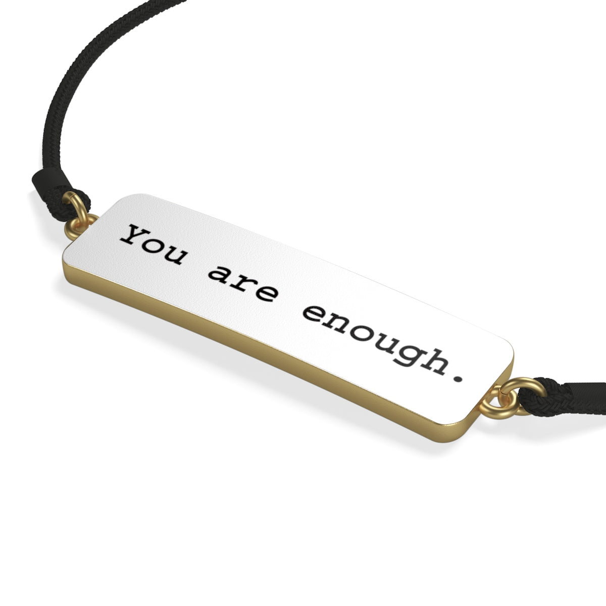 You are Enough Cord Bracelet
