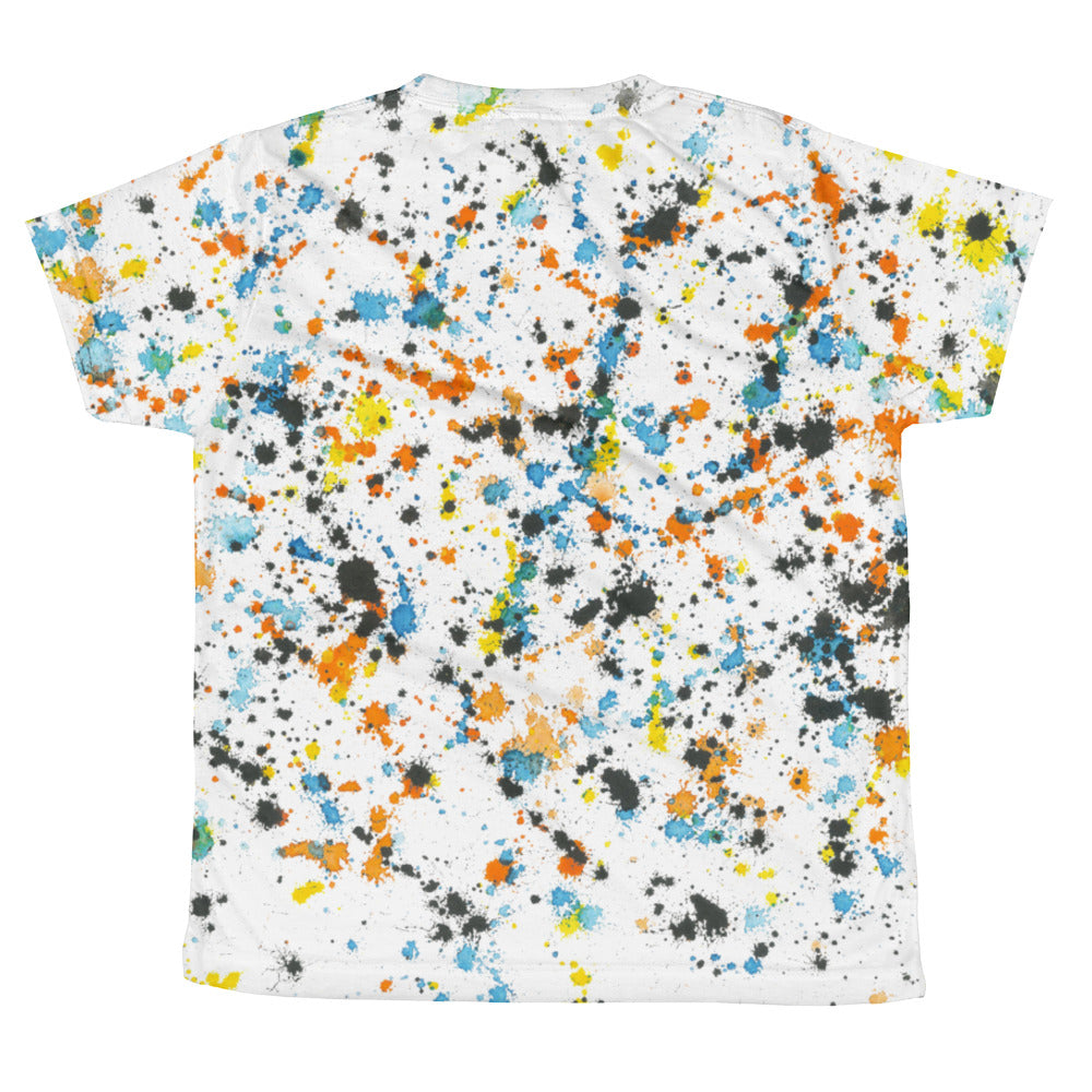 "B&L ""Like Pollock"" All-Over Youth Tee"