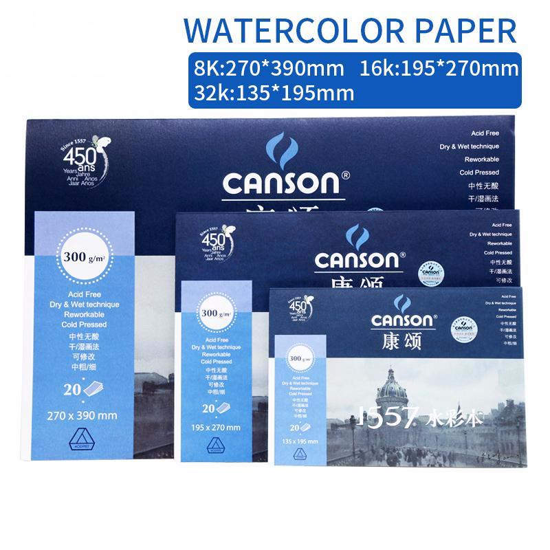 Brookish & Lanky 300g Professional Watercolor Paper