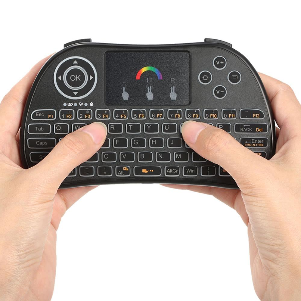 RGB Colorful Backlit Wireless Keyboard - TorontoIPTV