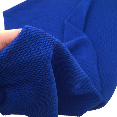 ROYAL BLUE Liverpool Fabric, Fat Quarter, 4 Way Stretch Fabric, Bullet Fabric, Liverpool Fabric for Bows