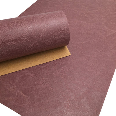MAUVE AGED DISTRESSED Faux Leather Sheets, Leather Sheet, Pvc Fabric Sheets, Leather for Earrings
