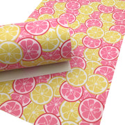 PINK LEMONADE Smooth Faux Leather Sheets, Leather Sheets, Custom Design, Leather for Earrings