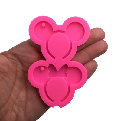 Mouse Headbands Mold, Shiny Mold, Silicone Molds for Epoxy Crafts, Resin Craft Molds, Epoxy Resin Jewelry Making Supplies