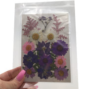Large Pressed Dry Flowers, Dried Flat Flower Packs, Pressed Flowers For Resin Crafts - 2877