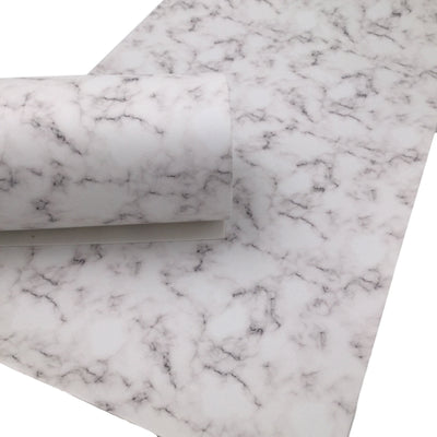 MARBLE SMOOTH Faux Leather Sheets, Custom Leather for Earrings and Hair bows, Craftyrific Exclusive Design