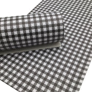 HOUNDSTOOTH Faux Leather Sheets, Leather Sheets, Faux Leather, Leather for Earrings - 0347