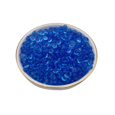 100g Blue Fishbowl Beads, Beads for Crunchy Slime,  Slushie Beads for Slime, Slime Supplies