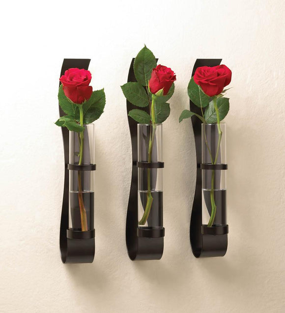 BILLOW WALL VASE TRIO