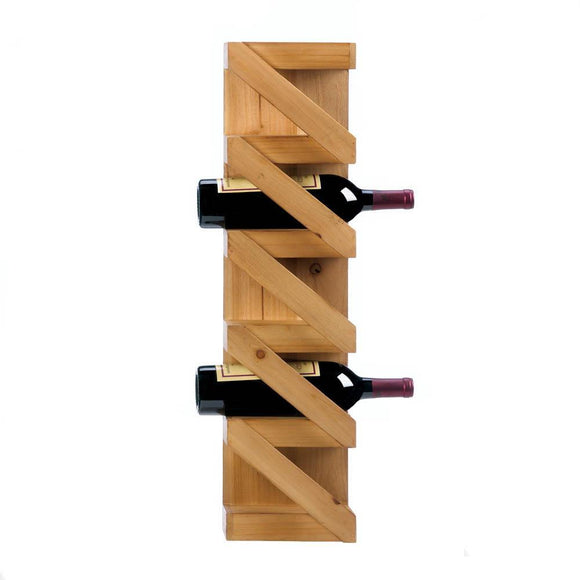 ZIG-ZAG WINE BOTTLE HOLDER