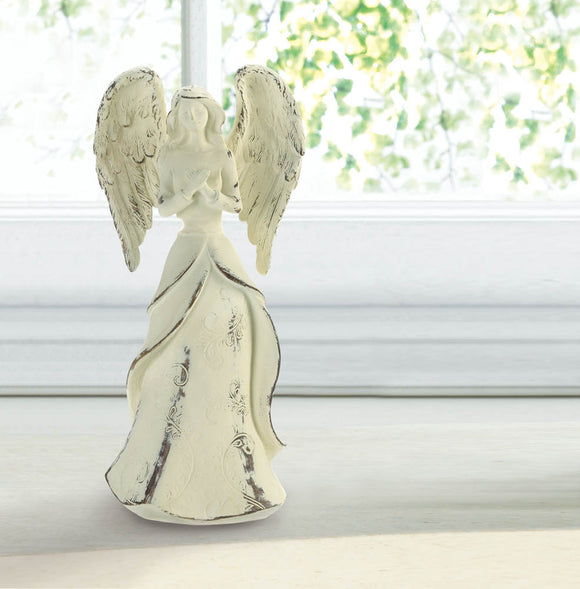 FOREVER IN FAITH ANGEL FIGURINE