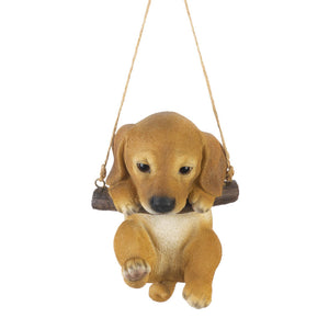SWINGING PUPPY DECOR