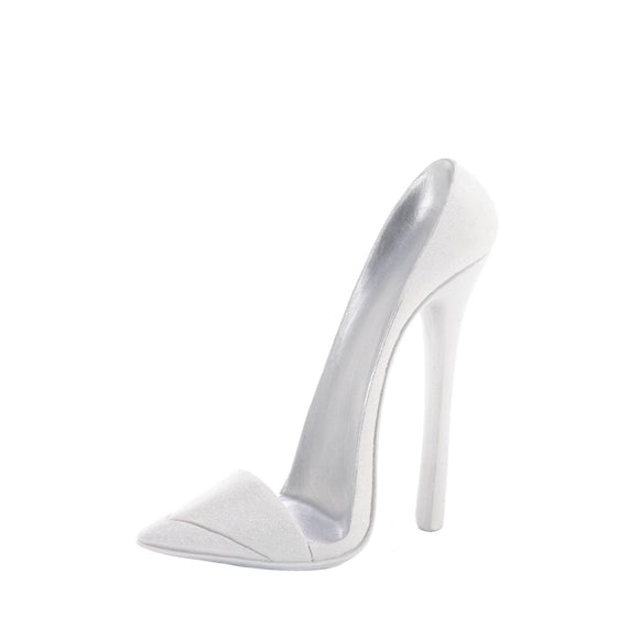 DAZZLING WHITE SHOE PHONE HOLDER