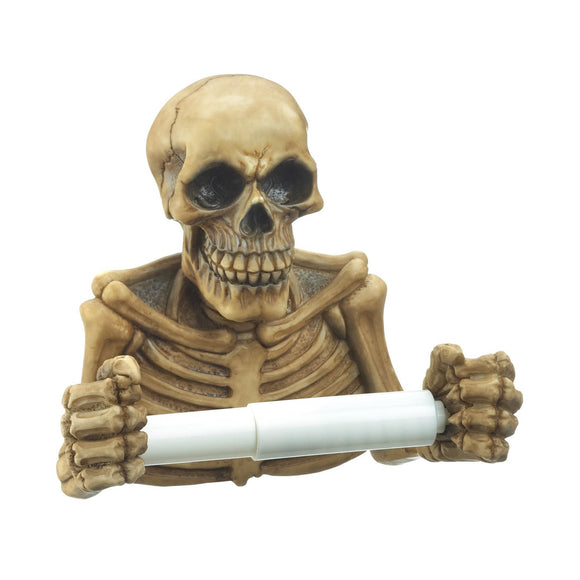 Skeleton Toilet Paper Holder