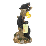 Climbing Bears Honeycomb Solar Light