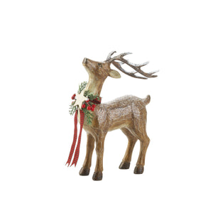 """So Proud"" Rustic Holiday Reindeer"