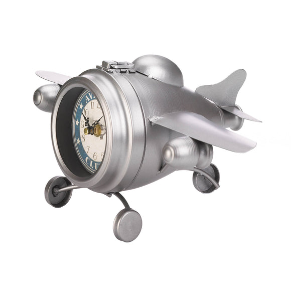 AVIATION CLUB JET DESK CLOCK