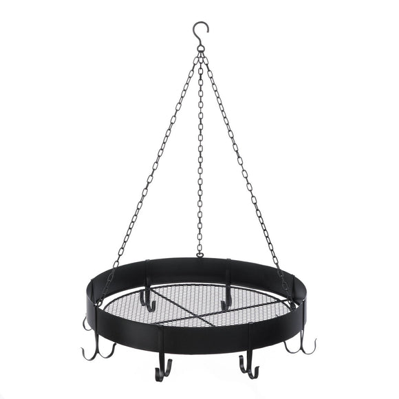 Round Hanging Pot Rack