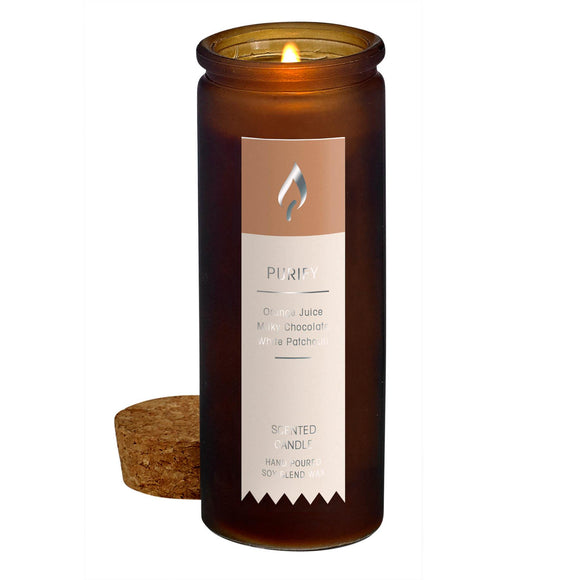 PURIFY SCENT TINCTURE BOTTLE CANDLE