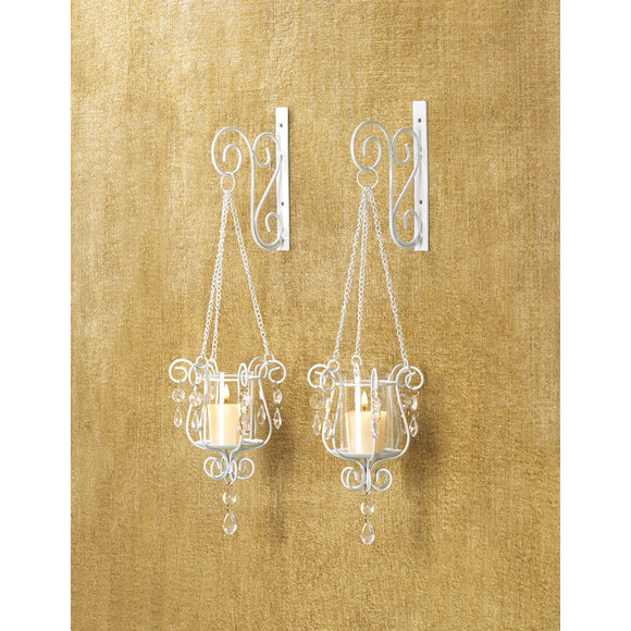 Bedazzling Pendant Sconce Duo