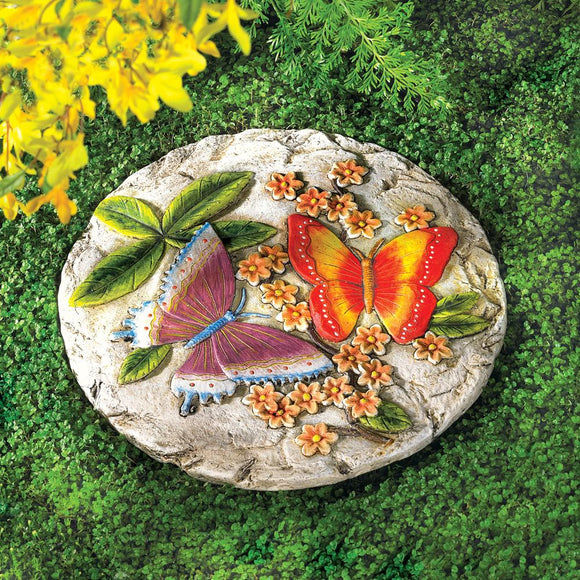 Colorful Butterfly Stepping Stone
