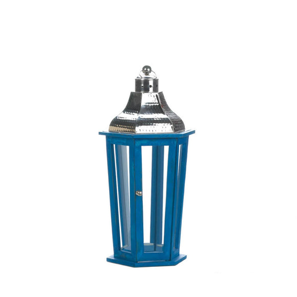 Azul Beach Medium Lantern