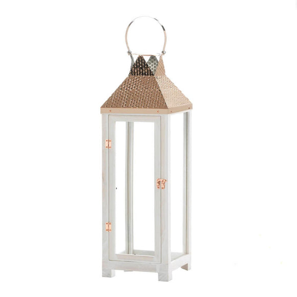 Hartford Large Wooden Lantern