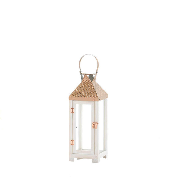 Hartford Small Wooden Lantern